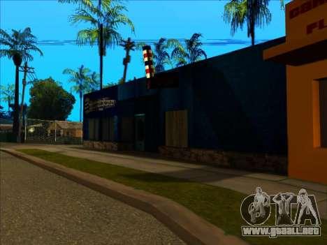 La nueva textura de la tienda Binco en LS para GTA San Andreas segunda pantalla