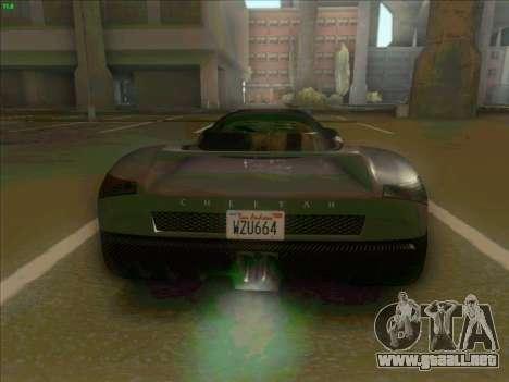 Cheetah Grotti GTA V para la visión correcta GTA San Andreas