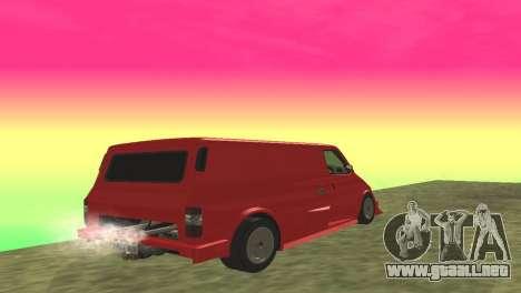 Ford Transit Supervan 3 Personalizado para la visión correcta GTA San Andreas