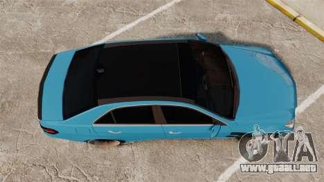Mercedes-Benz B63 S Brabus para GTA 4 visión correcta