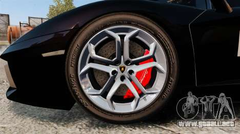 Lamborghini Aventador LP700-4 2012 [EPM] GoPro para GTA 4 vista hacia atrás