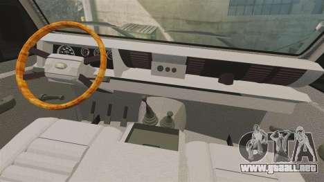 Land Rover Defender AFA [ELS] para GTA 4 vista hacia atrás