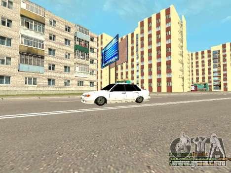 VAZ 2115 para vista lateral GTA San Andreas