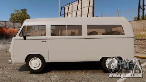 Volkswagen Kombi 1999 para GTA 4 left