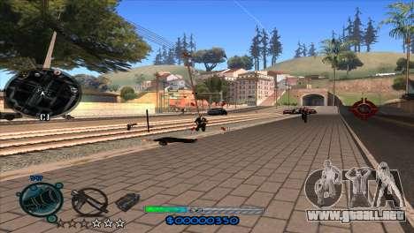 C-HUD Slow para GTA San Andreas quinta pantalla