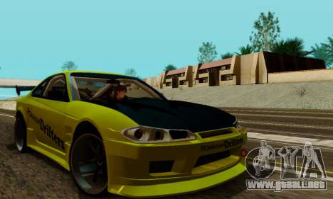 Nissan Silvia S15 Romanian Drifters para visión interna GTA San Andreas