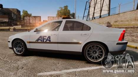 Volvo S60 AFA [ELS] para GTA 4 left