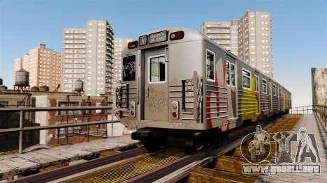 Nuevo graffiti para metrowakonowa para GTA 4 segundos de pantalla