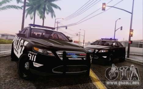 Ford Taurus Police para GTA San Andreas