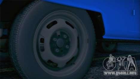 Volkswagen T1 Milicija para la visión correcta GTA San Andreas