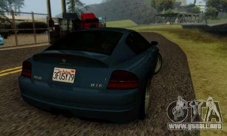 Fusilade GTA V para visión interna GTA San Andreas