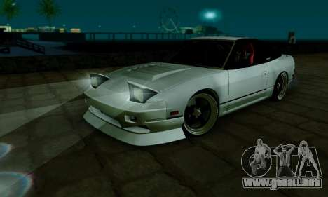 Nissan SX 240 para visión interna GTA San Andreas