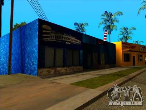 La nueva textura de la tienda Binco en LS para GTA San Andreas tercera pantalla