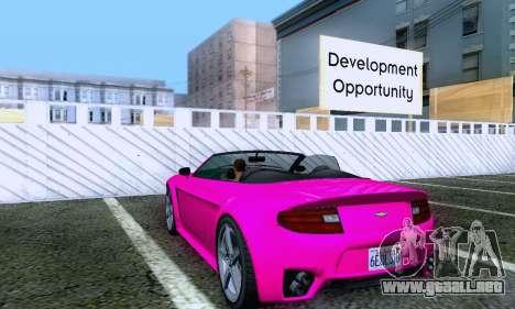 GTA V Rapid GT Cabrio para la visión correcta GTA San Andreas