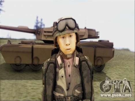 Soldados De La República popular De China para GTA San Andreas segunda pantalla
