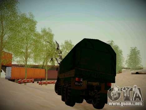 Pista de off-road para GTA San Andreas décimo de pantalla