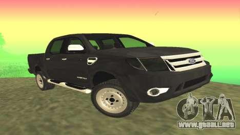 Ford Ranger Limited 2014 para GTA San Andreas