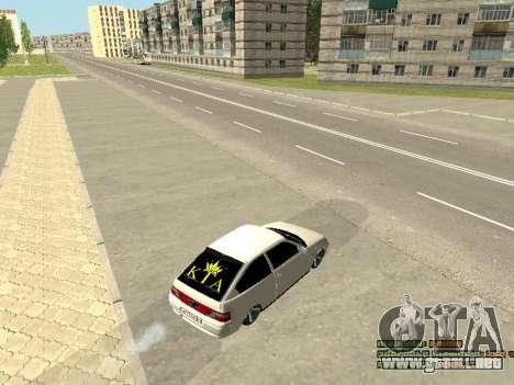 VAZ 21123 para visión interna GTA San Andreas