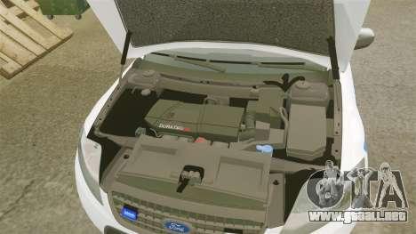 Ford Mondeo IV Wagon Police Nationale [ELS] para GTA 4 vista interior