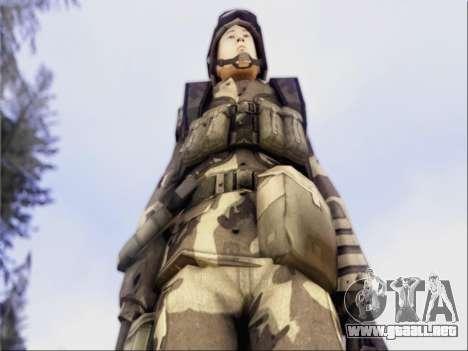 Soldados De La República popular De China para GTA San Andreas tercera pantalla