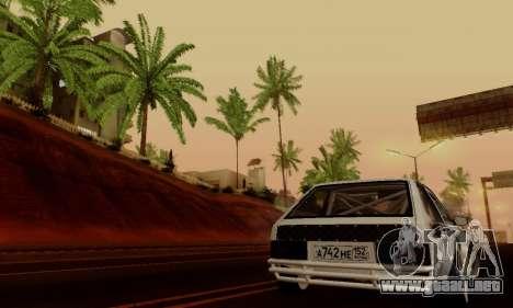 VAZ 2108 RDA para vista lateral GTA San Andreas