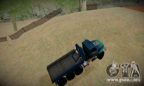 Pista de off-road para GTA San Andreas sexta pantalla