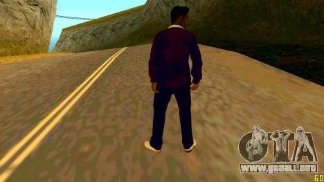 La nueva textura de Jizzy HQ para GTA San Andreas segunda pantalla