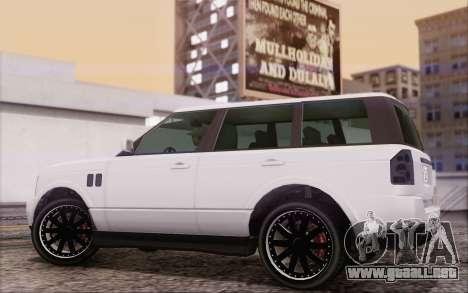 Atentos Gallivanter Baller из GTA V para la visión correcta GTA San Andreas