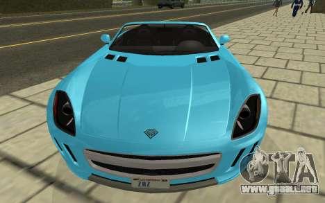Benefactor Surano GTA V para la visión correcta GTA San Andreas