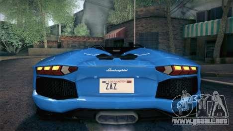Lamborghini Aventador Roadster para el motor de GTA San Andreas