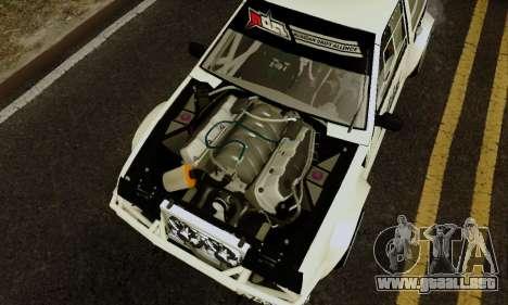 VAZ 2108 RDA para GTA San Andreas vista hacia atrás