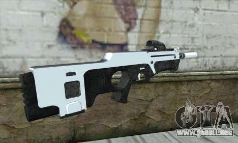 F6 Assault Rifle para GTA San Andreas segunda pantalla
