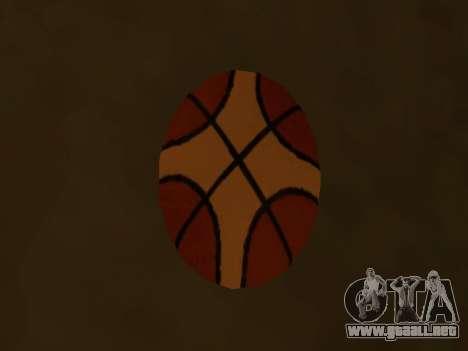 De nuevo el baloncesto de la compañía de Fundido para GTA San Andreas