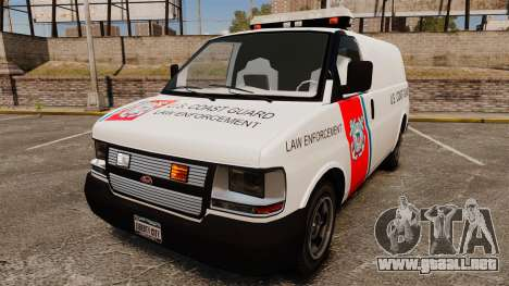 Vapid Speedo U.S. Coast Guard para GTA 4