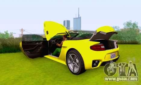 GTA V Rapid GT Cabrio para el motor de GTA San Andreas