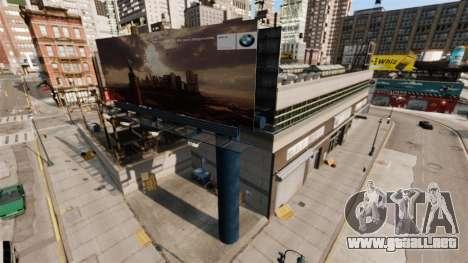 Concesionario BMW para GTA 4 segundos de pantalla