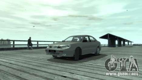 Daewoo Leganza para GTA 4 left