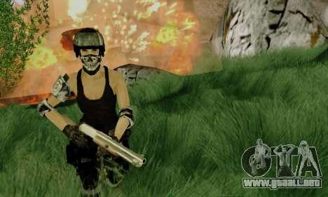 SWAT GIRL para GTA San Andreas segunda pantalla