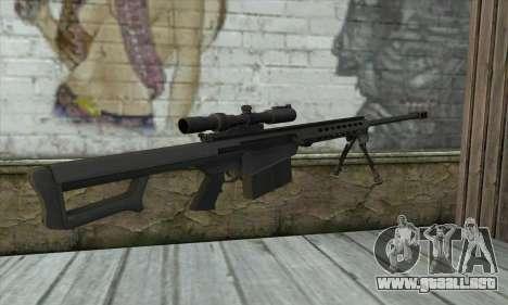M82A3 para GTA San Andreas segunda pantalla