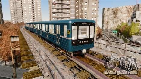 Cabeza de metro de modelos 81-717 para GTA 4 tercera pantalla