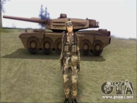 Soldados De La República popular De China para GTA San Andreas