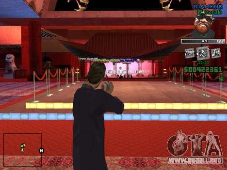 C-HUD by Misterio para GTA San Andreas sucesivamente de pantalla