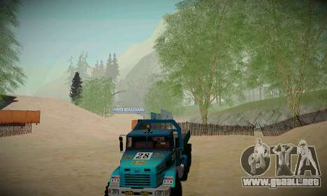 Pista de off-road para GTA San Andreas séptima pantalla