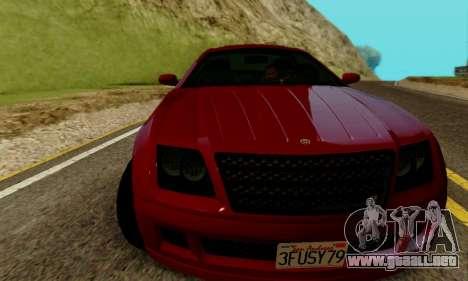 Fusilade GTA V para GTA San Andreas left