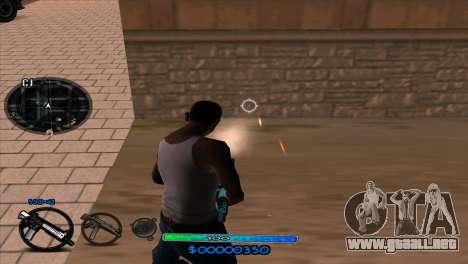 C-HUD Slow para GTA San Andreas sucesivamente de pantalla