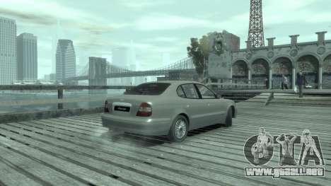 Daewoo Leganza para GTA 4 visión correcta
