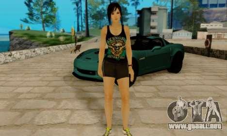 Kokoro A7X para GTA San Andreas sucesivamente de pantalla