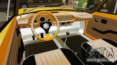 Volkswagen SP2 para GTA 4 vista hacia atrás