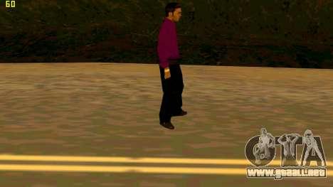 La nueva textura shmycr para GTA San Andreas tercera pantalla