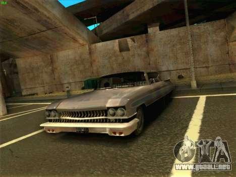Cadillac Stella 1959 para la visión correcta GTA San Andreas